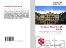 Bookcover of National Assembly of Serbia