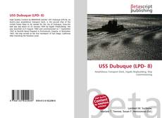 Bookcover of USS Dubuque (LPD- 8)