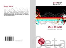 Bookcover of Shared Source