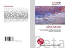 Buchcover von Achim Arbeiter