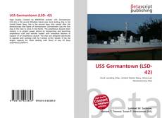 Capa do livro de USS Germantown (LSD- 42)