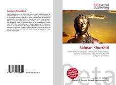 Capa do livro de Salman Khurshid