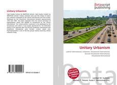 Unitary Urbanism kitap kapağı