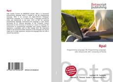 Bookcover of Rpal