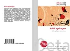 Bookcover of Solid Hydrogen