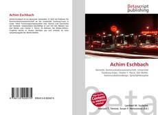Bookcover of Achim Eschbach