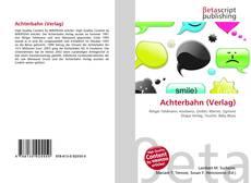 Bookcover of Achterbahn (Verlag)