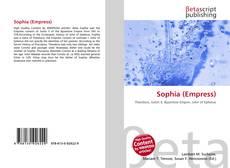 Capa do livro de Sophia (Empress)