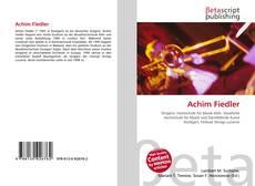 Achim Fiedler的封面