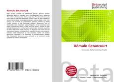 Capa do livro de Rómulo Betancourt