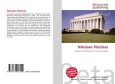 Nikolaos Plastiras kitap kapağı
