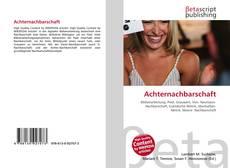 Portada del libro de Achternachbarschaft