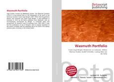 Copertina di Wasmuth Portfolio