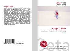 Bookcover of Sergei Zubov