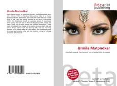 Bookcover of Urmila Matondkar