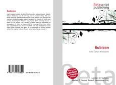 Bookcover of Rubicon