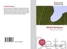 Bookcover of Nikolai Berdyaev