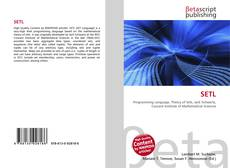 Bookcover of SETL
