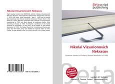 Bookcover of Nikolai Vissarionovich Nekrasov