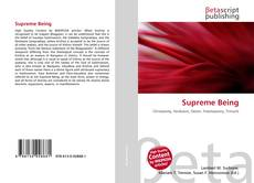 Bookcover of Supreme Being