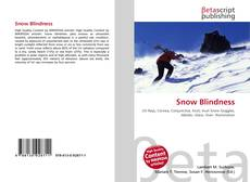 Bookcover of Snow Blindness