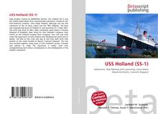 Bookcover of USS Holland (SS-1)