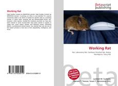 Capa do livro de Working Rat