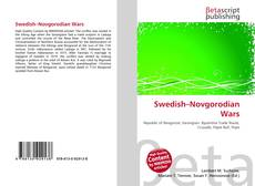 Swedish–Novgorodian Wars kitap kapağı