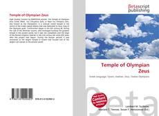 Buchcover von Temple of Olympian Zeus
