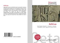 Buchcover von Achti-aa