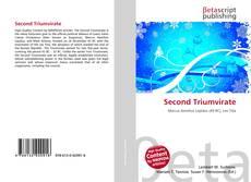 Capa do livro de Second Triumvirate
