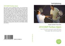 Bookcover of 2010 BNP Paribas Open