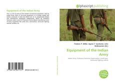 Copertina di Equipment of the Indian Army