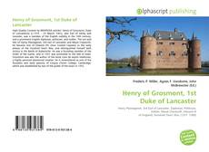 Buchcover von Henry of Grosmont, 1st Duke of Lancaster