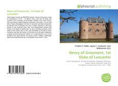 Borítókép a  Henry of Grosmont, 1st Duke of Lancaster - hoz