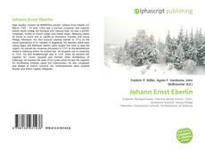 Borítókép a  Johann Ernst Eberlin - hoz