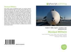 Bookcover of Musique Militaire