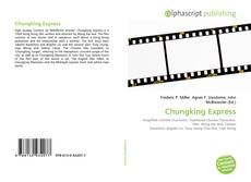 Bookcover of Chungking Express