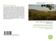 Bookcover of Bartolomeo Cavaceppi