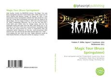 Bookcover of Magic Tour (Bruce Springsteen)