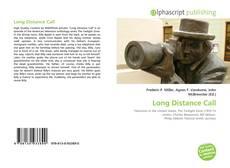Portada del libro de Long Distance Call