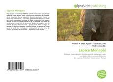 Espèce Menacée的封面