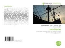 Portada del libro de Lionel Wafer