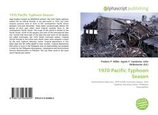 Bookcover of 1970 Pacific Typhoon Season