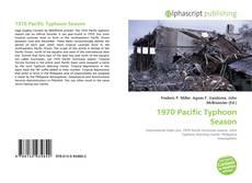 Capa do livro de 1970 Pacific Typhoon Season