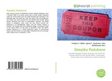 Bookcover of Deepika Padukone