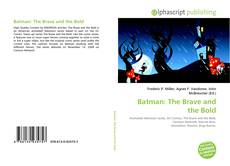 Bookcover of Batman: The Brave and the Bold