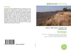 Bookcover of Géologie