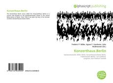 Bookcover of Konzerthaus Berlin