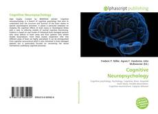 Capa do livro de Cognitive Neuropsychology